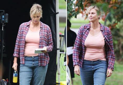 Charlize Theron alla prima del film  Tully : «che fatica ...