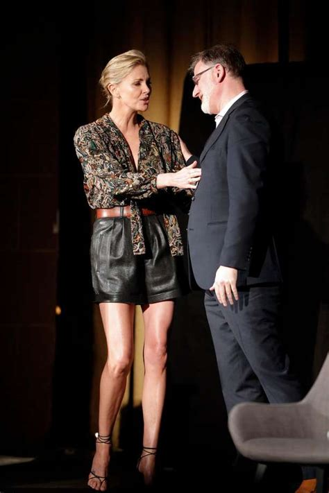 Charlize Theron jokes around, discusses career and new ...