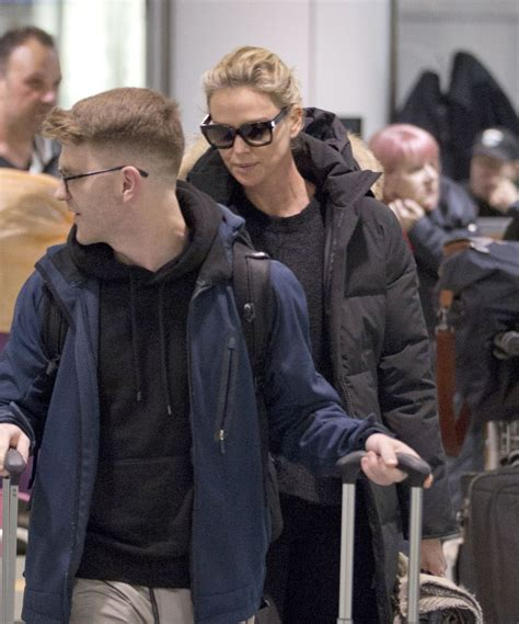 Charlize Theron Pictured in Montreal where she is filming ...