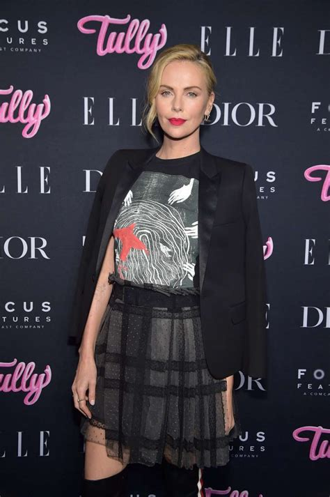 Charlize Theron    Tully  Screening in New York