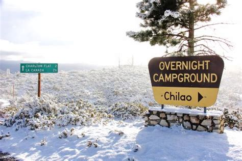 Chilao Recreation Area   Park   Angeles National Forest ...