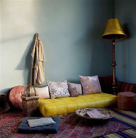 Chill Out y Estilo Marroquí en el Salón   Ideas Casas