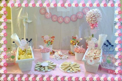 chocolate y burbujas: Mesa dulce para niña