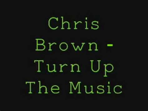 Chris Brown   Turn Up The Music    Clean    YouTube