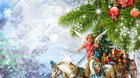 Christmas Angel Wallpapers   Wallpaper Cave