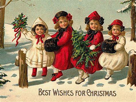 Christmas Vintage wallpaper   Vintage Wallpaper  33115962 ...