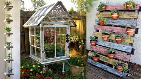 Cinco eco ideas para tener un jardín más bonito