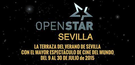 Cine OpenStar en el Muelle de las Delicias de Sevilla ...