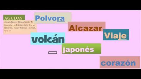 clasificación de las palabras según el acento   YouTube