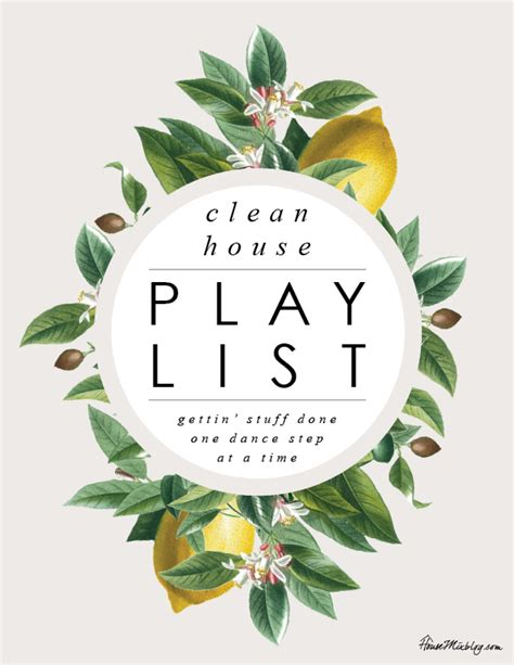 Clean house schedule and playlist | House Mix