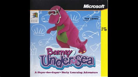 Clean Up Song   Barney Under the Sea   YouTube