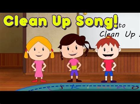 Clean Up Song for Children | Kindergarten | Preschool | by ...