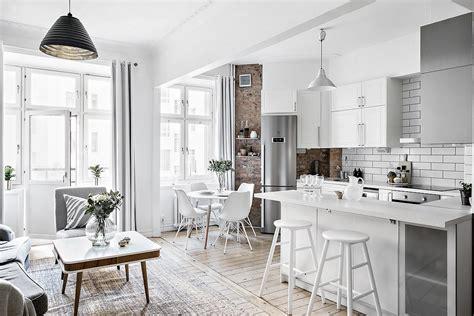 Cocina abierta en un piso pequeño   Blog decoración estilo ...