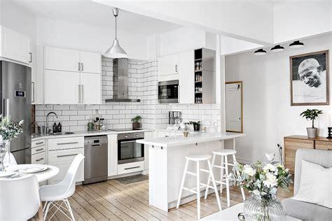 Cocina abierta en un piso pequeño   Blog tienda decoración ...