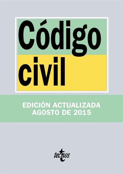 Código civil ISBN: 9788430966073, Libros tecnicos ...
