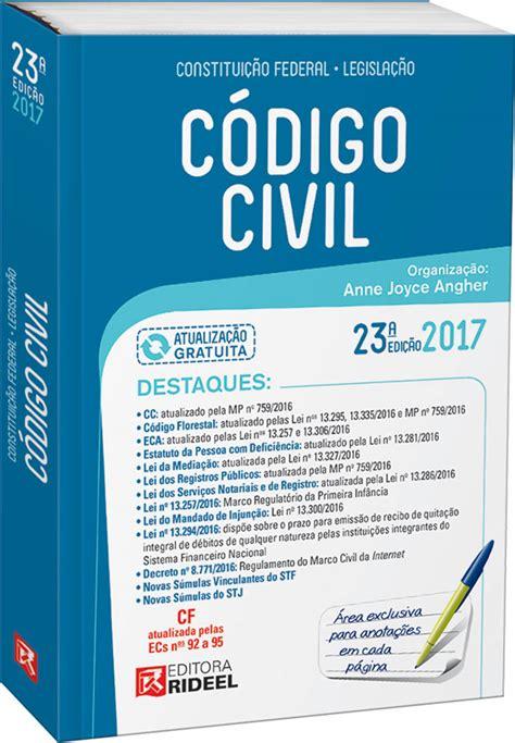 Código Civil   Série Compacta 2017 ISBN:9788533941700 Anne ...