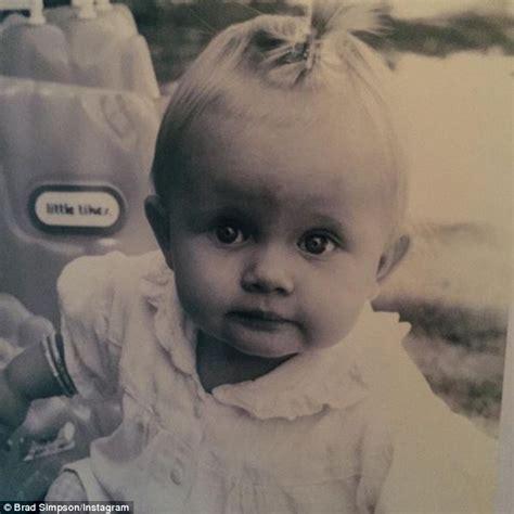 Cody Simpson s sister Alli looks very cute in flashback ...