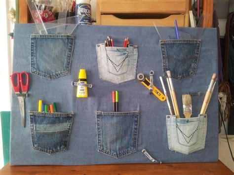 Colección de manualidades con pantalones vaqueros  11 ...