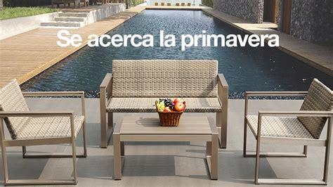 Colección de terraza y jardín de El Corte Inglés 2016
