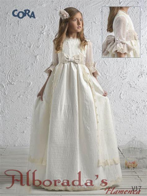 Colección de vestidos de comunión 2017, Cora de Niña ...