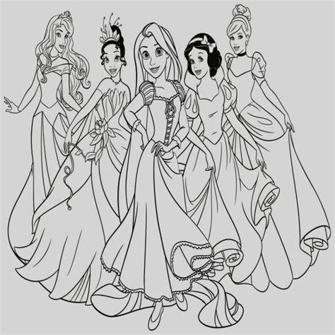 Colorear A Las Princesas Disney Dibujos De Para E Imprimir ...