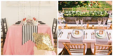 Colores para la mesa: Blanco y Negro a rayas
