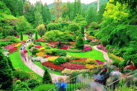 Colorful Butchart Gardens   Victoria, Canada, Nice n Funny