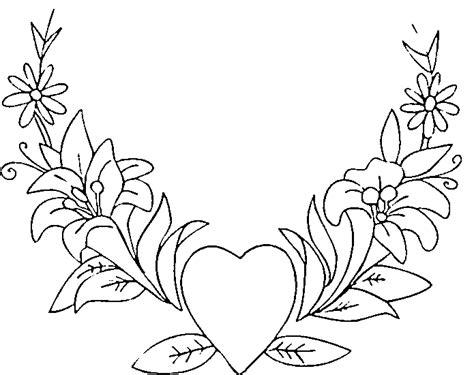 Coloriage St valentin   1 à colorier | Allofamille