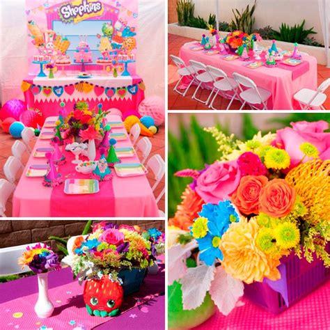 Colorido cumpleaños de niña   Shopkins para festejar tu ...