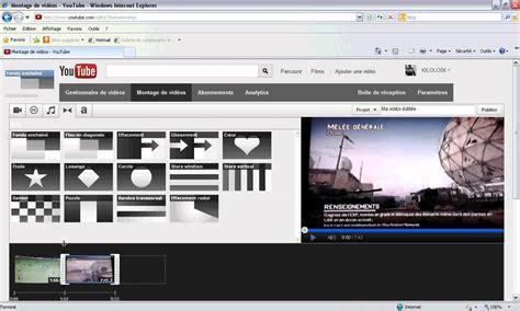 Comment faire un montage vidéo sur youtube   YouTube