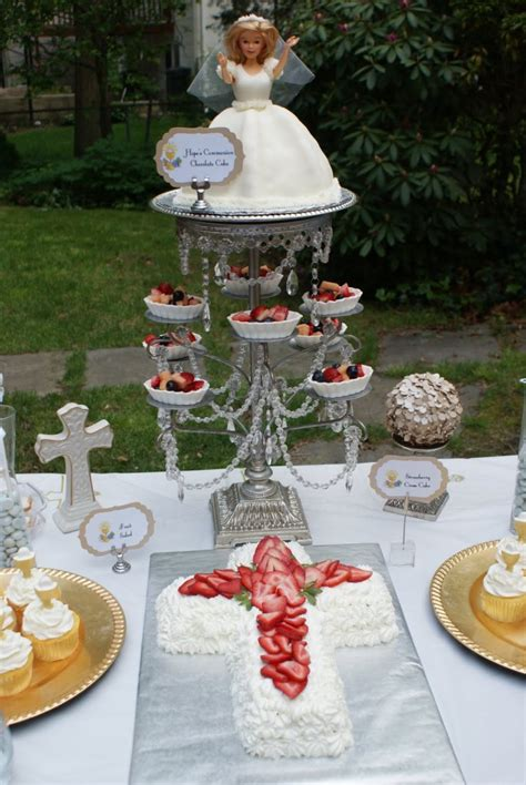 Communion Party Ideas, First Holy Communion Decorations