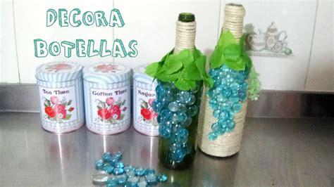 Cómo decorar botellas de vino │Candy Bu   YouTube