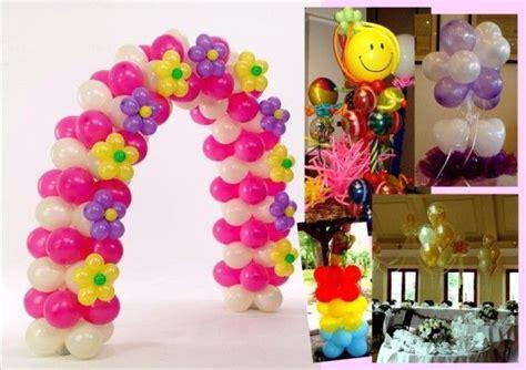 Como decorar con globos