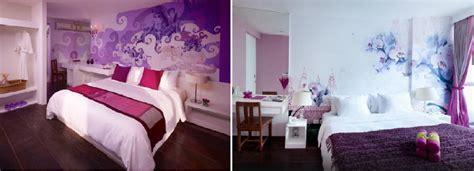 Cómo decorar dormitorios morados, ciruela, lilas y violetas