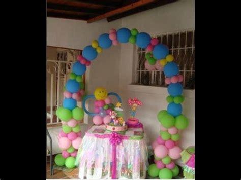como decorar fiestas infantiles con globos   YouTube
