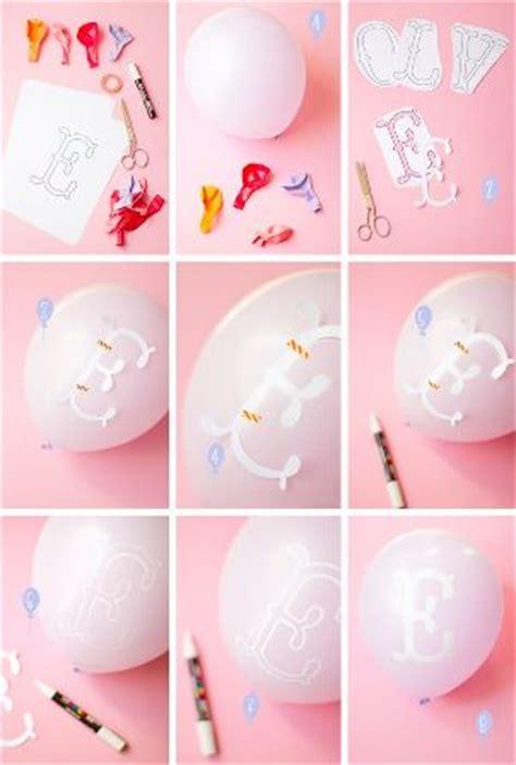 ¿Cómo decorar los globos con letras para un evento ...