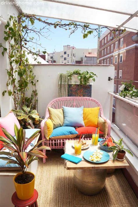Cómo decorar terrazas pequeñas con encanto y muy originales