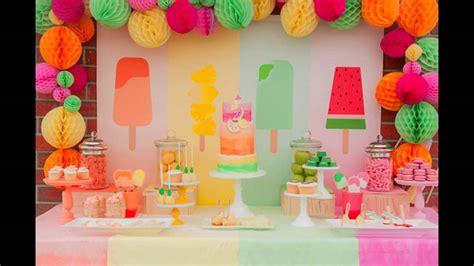 Cómo decorar tu mesa de cumpleaños   YouTube