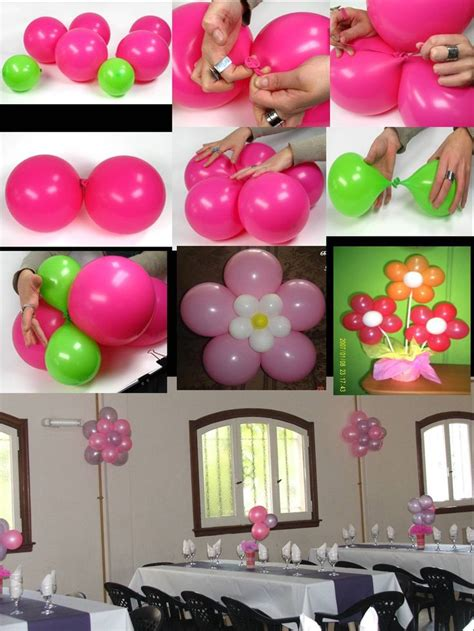 Como decorar un #salon de #fiestas con flores de Globos ...