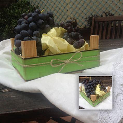 Cómo decorar una caja de frutas