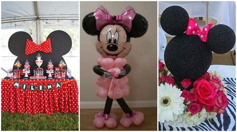 Cómo decorar una fiesta inspirada en Minnie Mouse ...