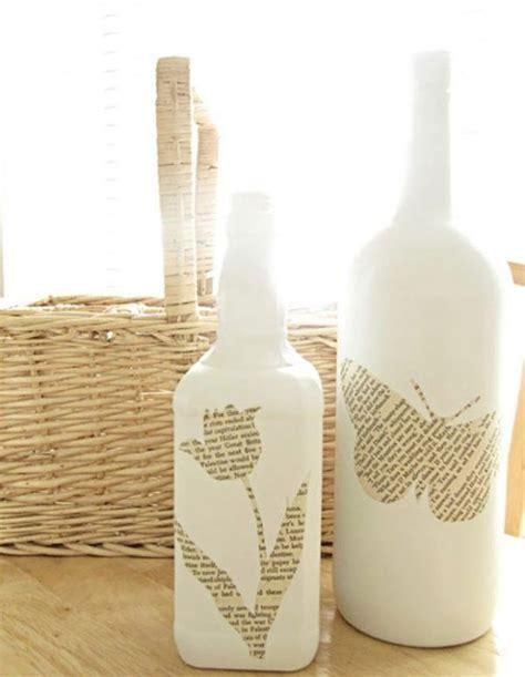 Cómo decorar unas botellas de cristal   BlogHogar.com
