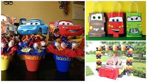 Cómo decoro una fiesta de niños con temática de cars ...