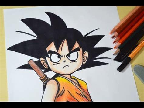 Como desenhar o Goku criança passo a passo   YouTube