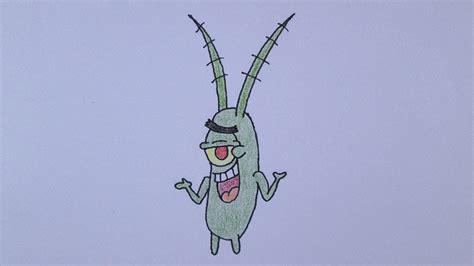 Como desenhar o Plankton de Bob Esponja   YouTube