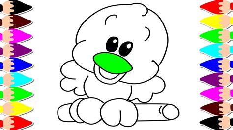 Cómo Dibujar un Pájaro Fácil   Dibujos Infantiles para ...