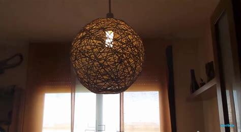 Como fazer uma lâmpada pendurada caseira com material ...