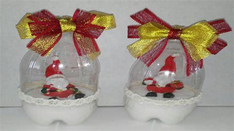como hacer bolas de nieve con botellas de plastico ...