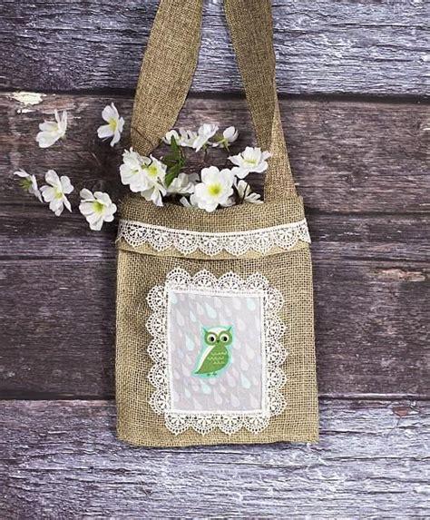 Como hacer bolsas de arpillera | Todo Manualidades
