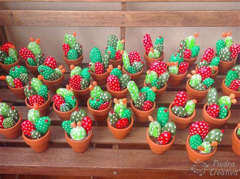 Cómo hacer cactus con piedras • DIY y manualidades en ...